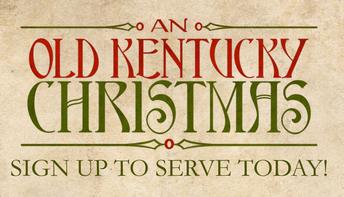 Volunteers - First Church - An Old Kentucky Christmas
