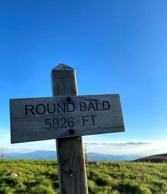 Round Bald at Carvers Gap