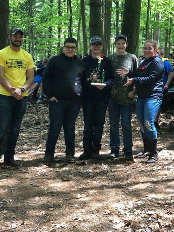 Middle School Envirothon Team Wins First Place!