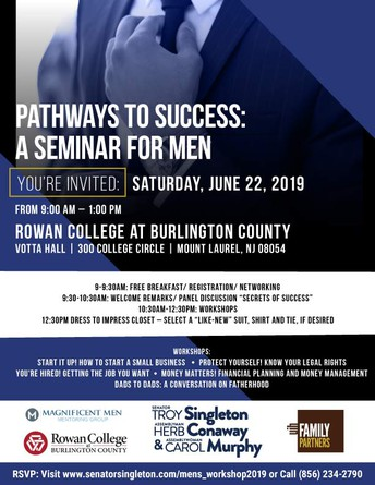 Pathways to Success: A Seminar for Men
