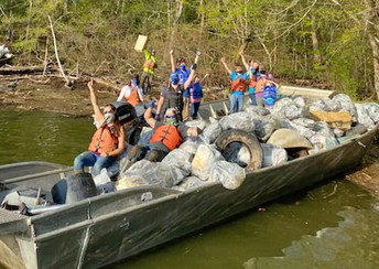THANK YOU to Keep the Tennessee River Beautiful, TVA, and all the Volunteers