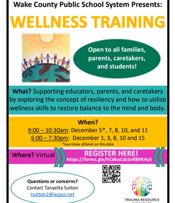 Wellness Training for families
