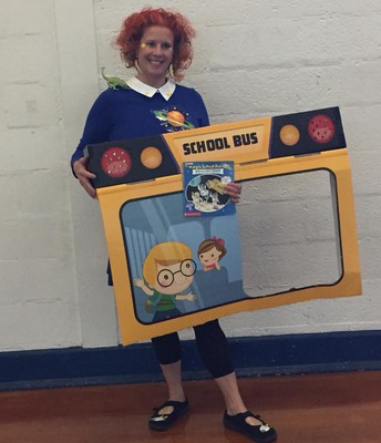 Ms. Frizzle: Literacy Character Day