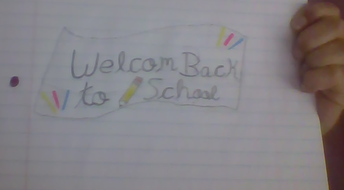 Back to School Banner by Eva P.