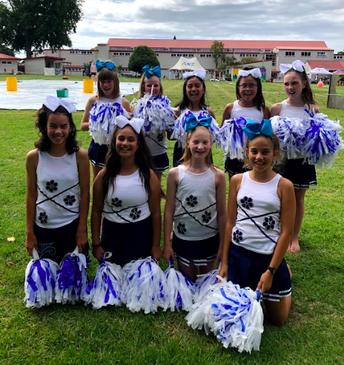 TPS Cheerleader Team 2021