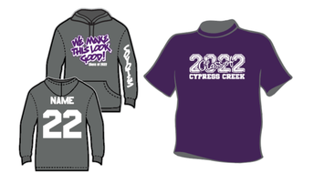 9th Graders: Class of 2022 Shirts on Sale!