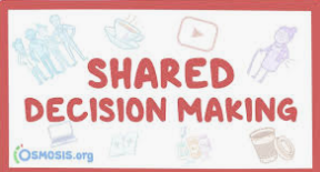 Understanding what is SHARED Decision Making? 9/18