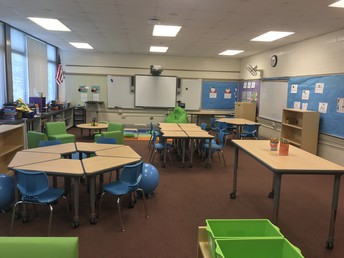 Principal's Note: Flexible Classrooms - Thank You!