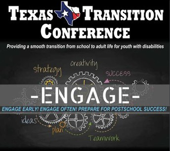 ENGAGE at the Texas Transition Conference:  Upcoming on February 20-22 in San Antonio