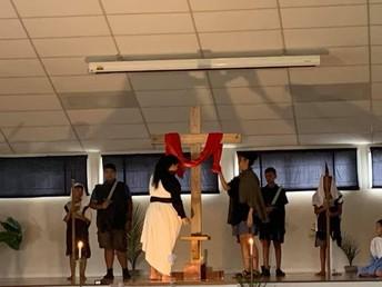We worship a Risen Saviour - Death has no hold on Him