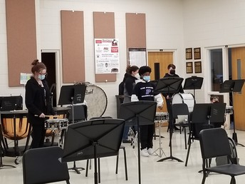 Our Amazing Percussion Students