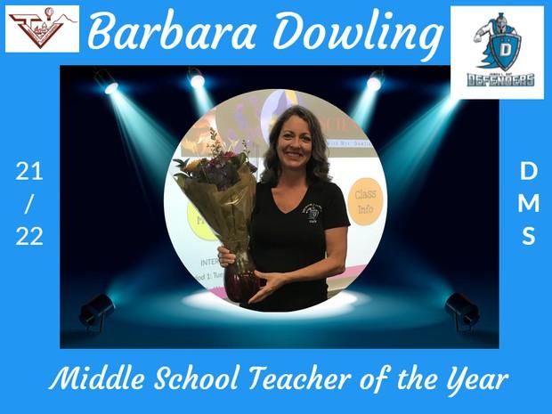 Barbara Dowling, Day Middle School