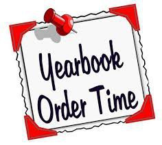 Yearbook Order Time sign