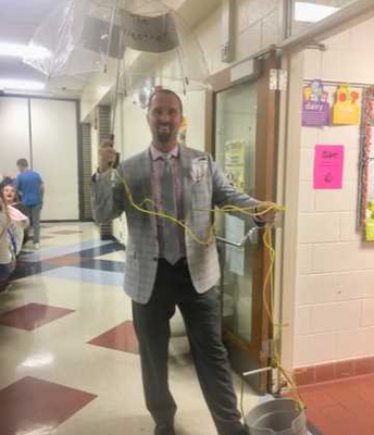 "Being ""Under the Weather"" was the ""Last Straw"" so Mr. Kausch ""Kicked the Bucket."""