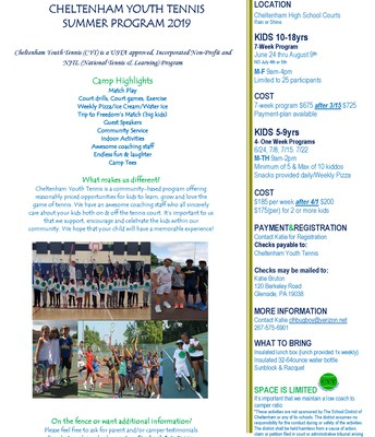 Cheltenham Youth Tennis