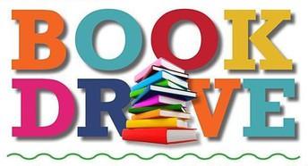 Book Drive - May 13th