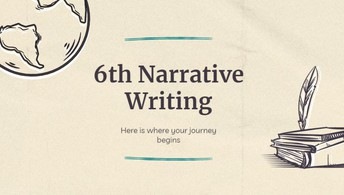 6th Grade Narrative Writing Project