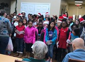 Rockbrook Choir Caroling