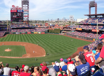 Phillies Game at Citizens Bank Park