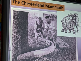"""The Chesterland Mammoth"" - excerpt of woolly mammoth slideshow excerpt from Geauga Park District"