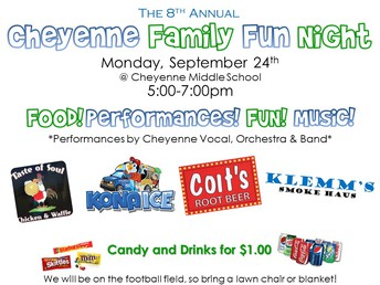 Family Fun Night 9/24