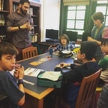 Board Game Club with Mr. Haines