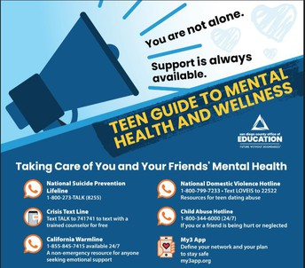 Mental Health and Wellness for Teens
