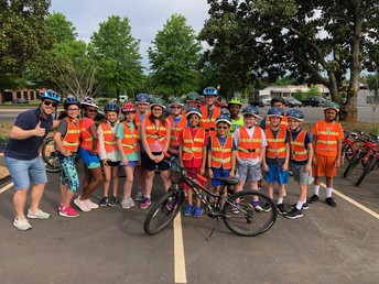 Fifth Grade Bike Trip