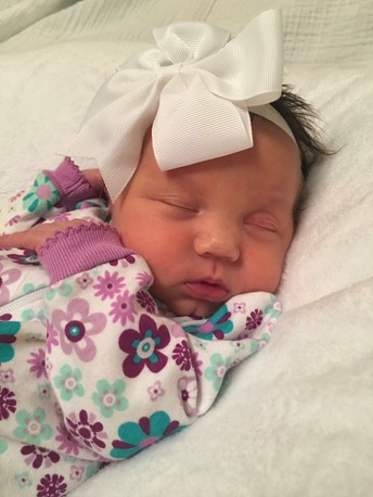 Congratulations to Cathy Reed on the birth of her Granddaughter!