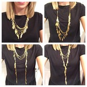 Get the Garland Fringe Necklace for $78 using 2 codes