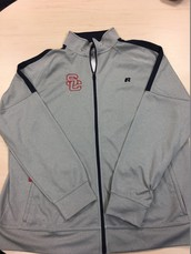 Men's Track Jacket-Grey