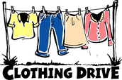 Symmes annual fall clothing drive time!