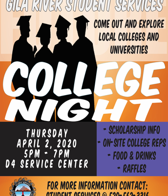 Gila River Student Services College Night