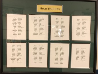 High Honors List