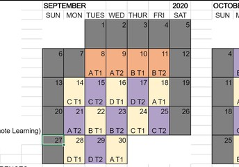Plan for Bringing Grades 1-5 into School Every Day begins next week, September 28