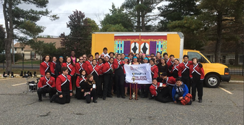 WHS Marching Band Wins 5th State Championship!