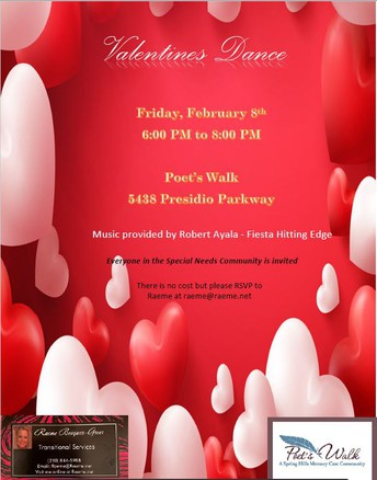 Valentines Dance for Everyone in the Special Needs Community