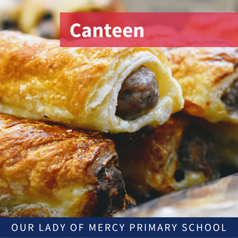 Canteen orders can be placed from Monday