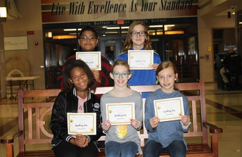 6th Grade Top Spellers