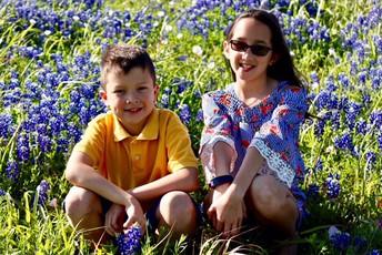 My children, Dresden and Stella