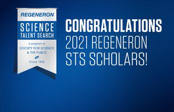 Four GHS Seniors Named Regeneron Science Talent Search Scholars