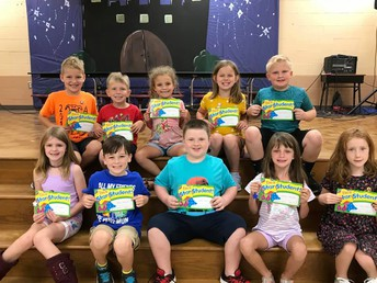 Second Grade Star Students