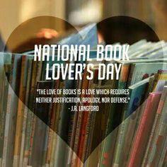 Celebrate National Book Lover's Day!
