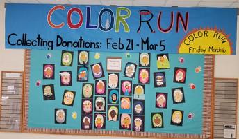 Elementary Fun-Run Fundraiser March 6th