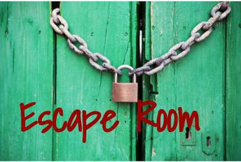 New this year, an Escape Room!