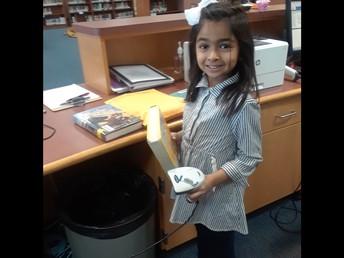 SOAR Bucks at Work - Library Helper!