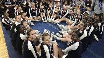 Cheer Finishes Top 5 at State