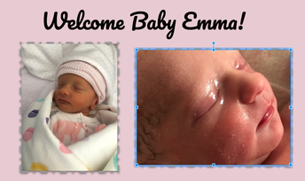 Welcome Baby Emma...