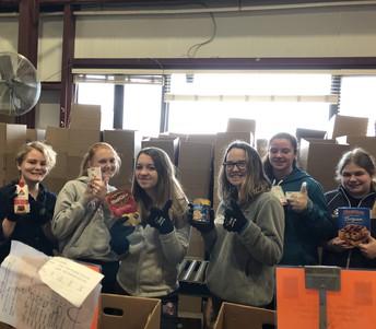 Volunteer Buddies: VT Foodbank