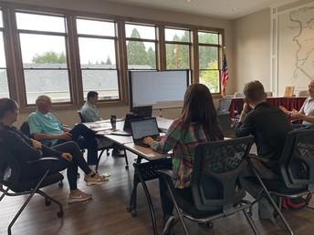 PE teachers collaboration 9/16